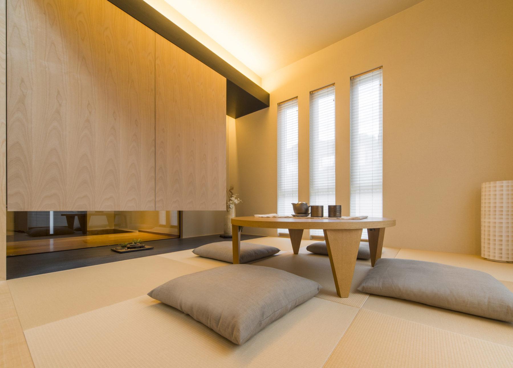 くつろぎの和室は、来客時に大活躍。